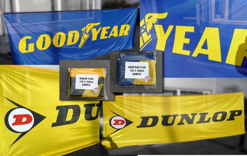 Flagi Goodyear Dunlop