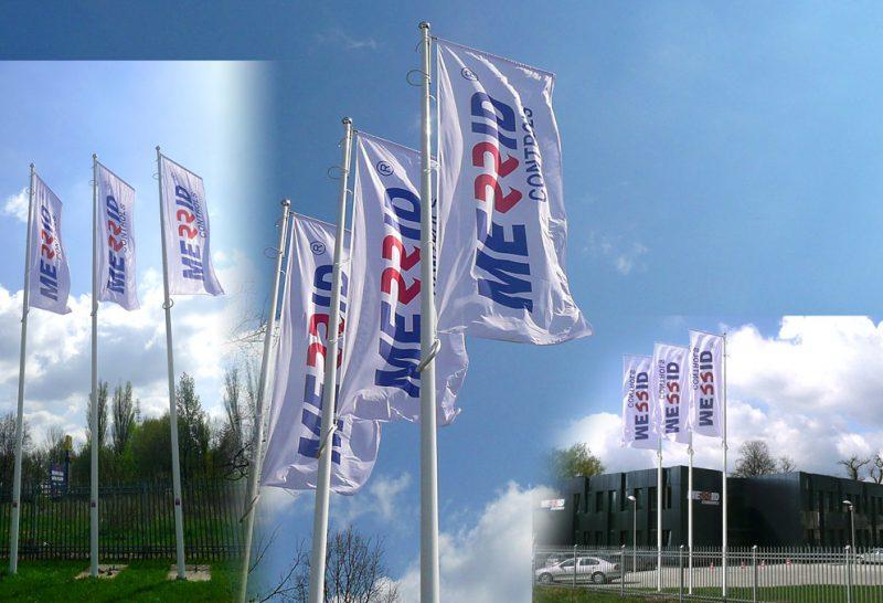 Flagi Merrid 150x400