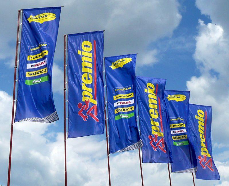 Flagi dla Goodyear-a