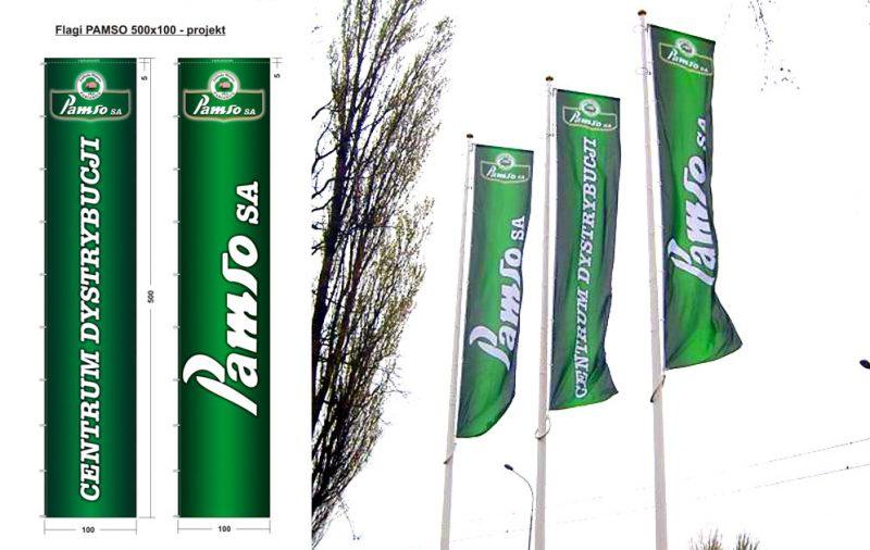 Maszty i flagi PAMSO - Zgierz